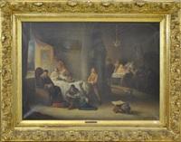 scène d'intérieur by félix van den eycken