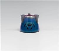 vase mit krebsen by richard ginori