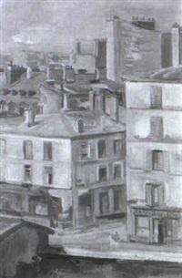 blick aus meiner pariser wohnung by ernest hubert