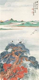 群仙上寿 by wu qingxia