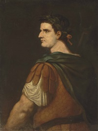portrait of the emperor tiberius caesar (42 b.c. - a.d. 37) by titian (tiziano vecelli)
