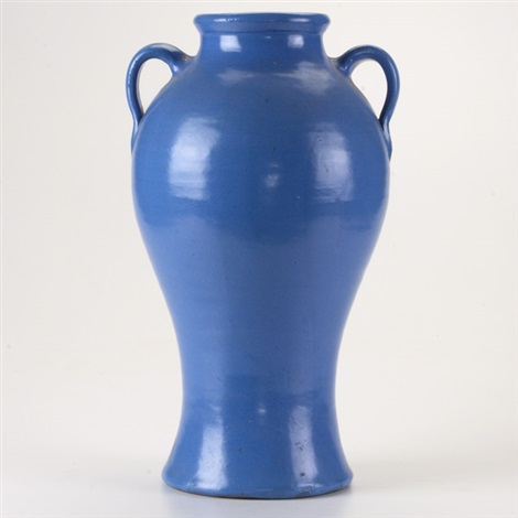 Tall Double Handled Rebecca Vase By Bauer On Artnet