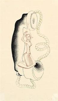 surrealist composition by asger jorn