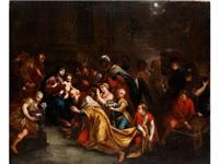 anbetung der könige in bethlehem by anonymous-italian (17)