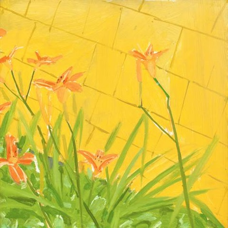 lillies by alex katz
