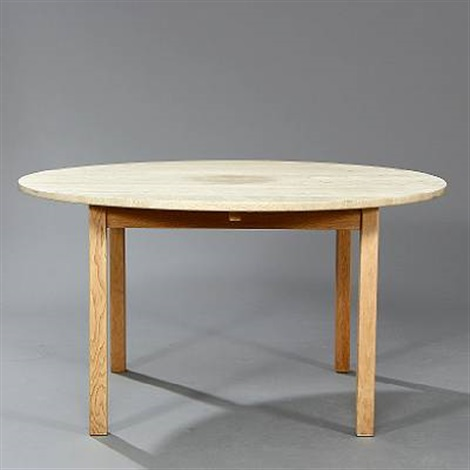 Circular Dining Table With Extension And Three Extra Leaves Veneer - Circular dining table with extension