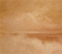 landschaft mit wolken by peter ritzer