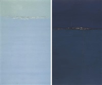 landscape no. 15 (+ another; 2 works) by qiu anxiong