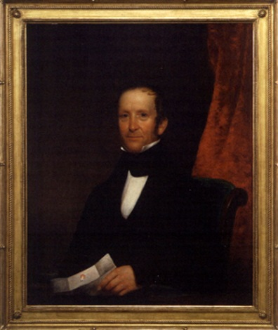 portrait of william whitlock jr by samuel fb morse