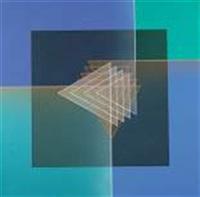 ligne descriptive bleu orange by octavio herrera