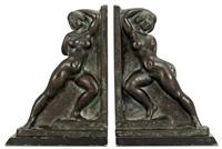 bokstöd (pair) by axel gute