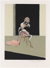 triptyque août 1972 (3 works) by francis bacon