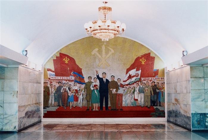 u bahn station 4 pjöngjang nordkorea by hans christian schink
