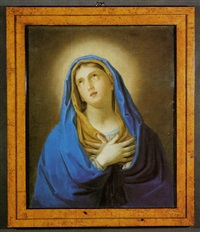 madonna addolorata by auguste christian fleischmann