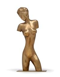 weiblicher torso by franz hagenauer