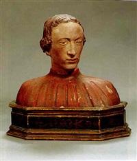 portraitbueste eines jungen mannes by donatello
