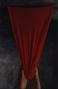 untitled (from red series) by christian vogt