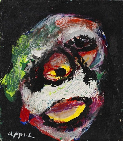 kopf by karel appel