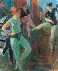 in der ballettklasse by ferdinand henri maire