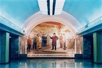 u-bahn-station (6), pjöngjang, nordkorea by hans-christian schink
