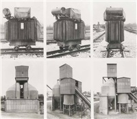 transformator u. silo by bernd and hilla becher