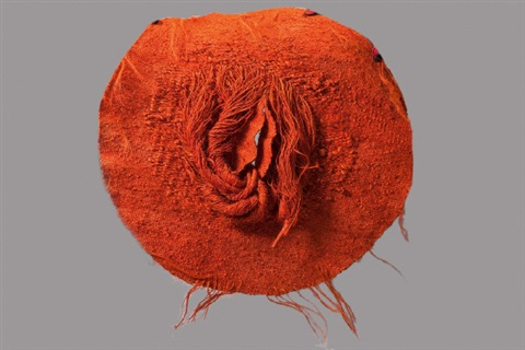 cercle orange by magdalena abakanowicz