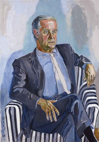 portrait of robert graham by alice neel