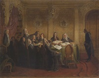 hieronymus jobs im examen by johann peter hasenclever