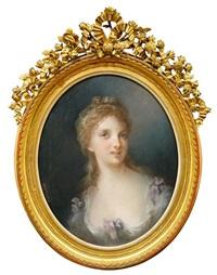 bildnis einer jungen dame by frédéric grosclaude