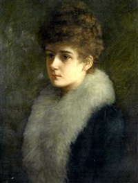 portrait of a lady by blanche f. macarthur