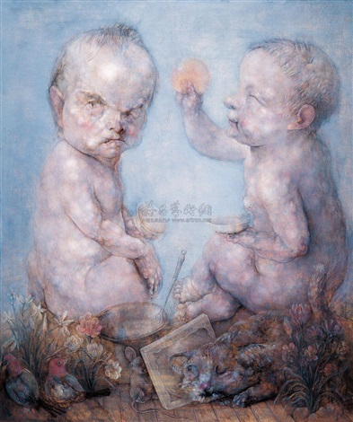 an argument about the sun by qiu jiongjiong