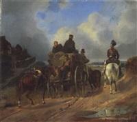 rückkehr der soldaten by edmund friedrich rabe