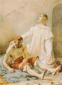 gefangenbesuch by jean-léonard lugardon