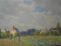 in corfe village, dorset by william h. waddington