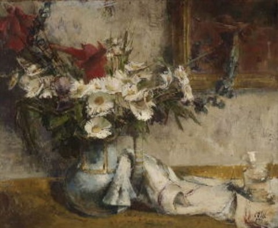 Stillleben mit Sommerblumen by Carl Otto Müller on artnet