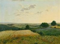 oeuvre xi (summer landscape) by jean ferdinand monchablon