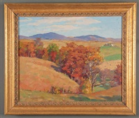 fall landscape by garnet w. jex