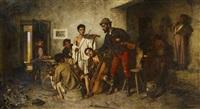 die jungen musiker by jános valentiny