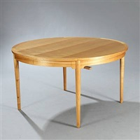 kinabord dining table by niels roth andersen