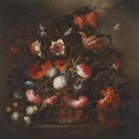 ein blumenstillleben by josé de arellano