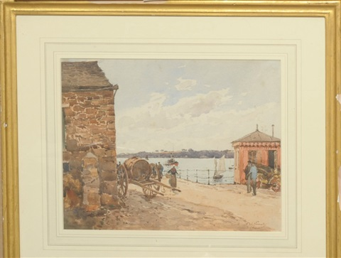 dinard by paul emile lecomte