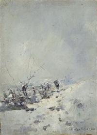 paesaggio innevato by ferruccio rontini