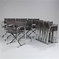 x75-2 chairs (set of 13) by bo lindekrantz and börje lindau
