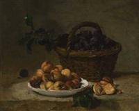 früchtestillleben by philippe rousseau