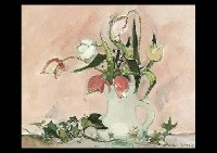 tulipe roses by michel rodde