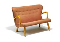 freestanding two seater sofa by martin olsen