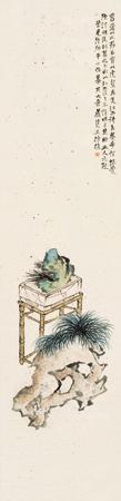 兰石图 by xu zhen