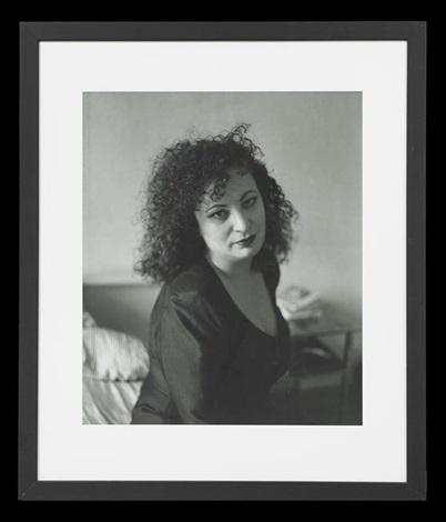 portrait of nan goldin by david armstrong