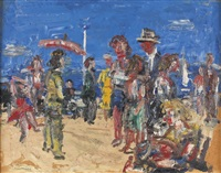 partie am strand by paul maas