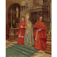 saying mass by umberto cacciarelli